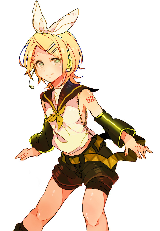 Anime Characters Named Rin : Rin kagamine anime photo  fanpop