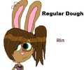 Rin from Regular Dough - regular-show fan art