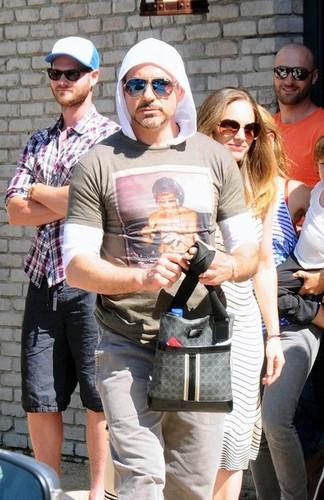 Robert Downey Jr. Out in Malibu