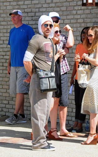 Robert Downey Jr. wallpaper probably containing a hip boot titled Robert Downey Jr. Out in Malibu