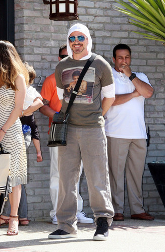 Robert Downey Jr. Out in Malibu