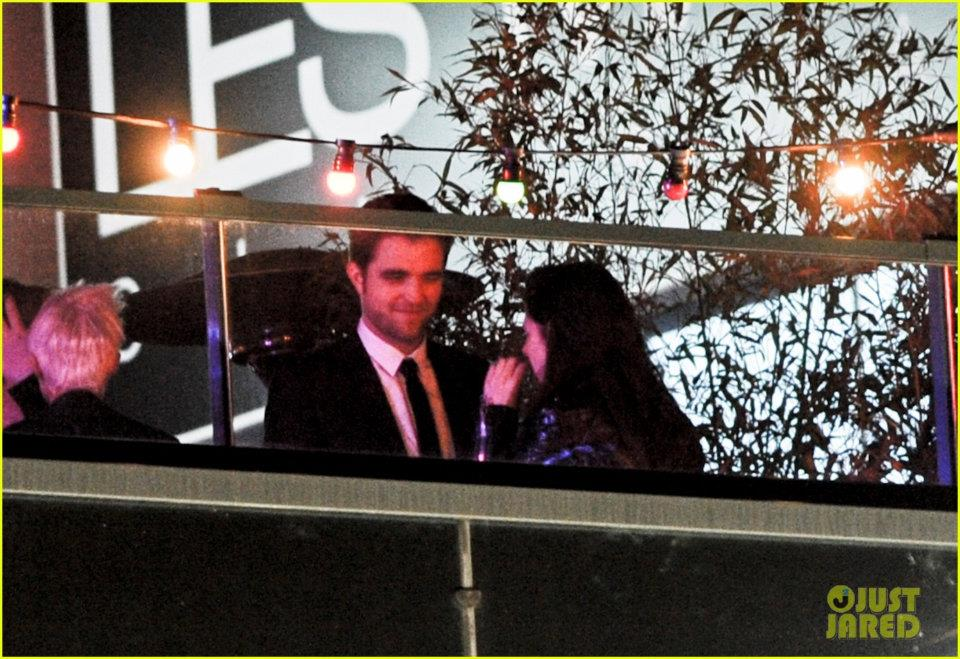 Robsten in the On The Road afterparty =D