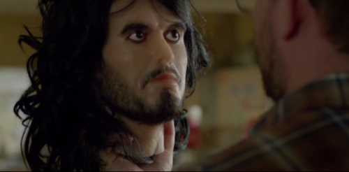 Russell Brand´s Head