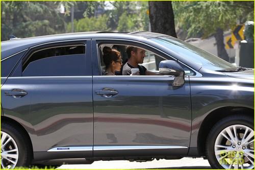 Ryan gansje, gosling & Eva Mendes: Starbucks Couple