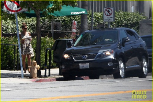 Ryan ngỗng con, gosling & Eva Mendes: Starbucks Couple