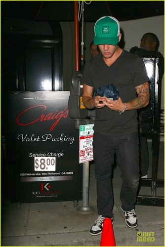 Ryan Phillippe: Green ٹوپی at Craig's