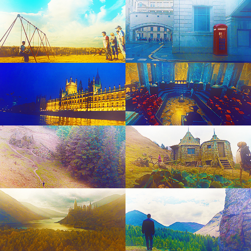 SCENERY AND PRODUCTION 디자인 PICSPAM | HP & THE ORDER OF THE PHOENIX