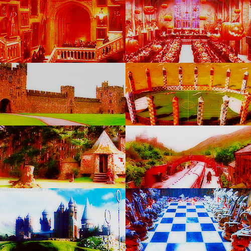 SCENERY AND PRODUCTION diseño PICSPAM | HP & THE SORCERER'S STONE