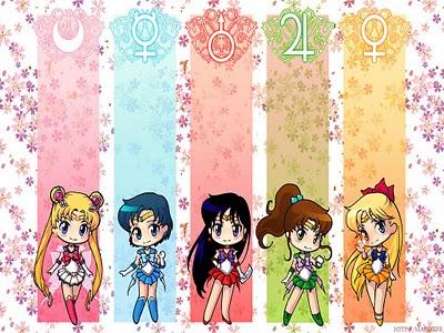 Sailor Moon achtergrond