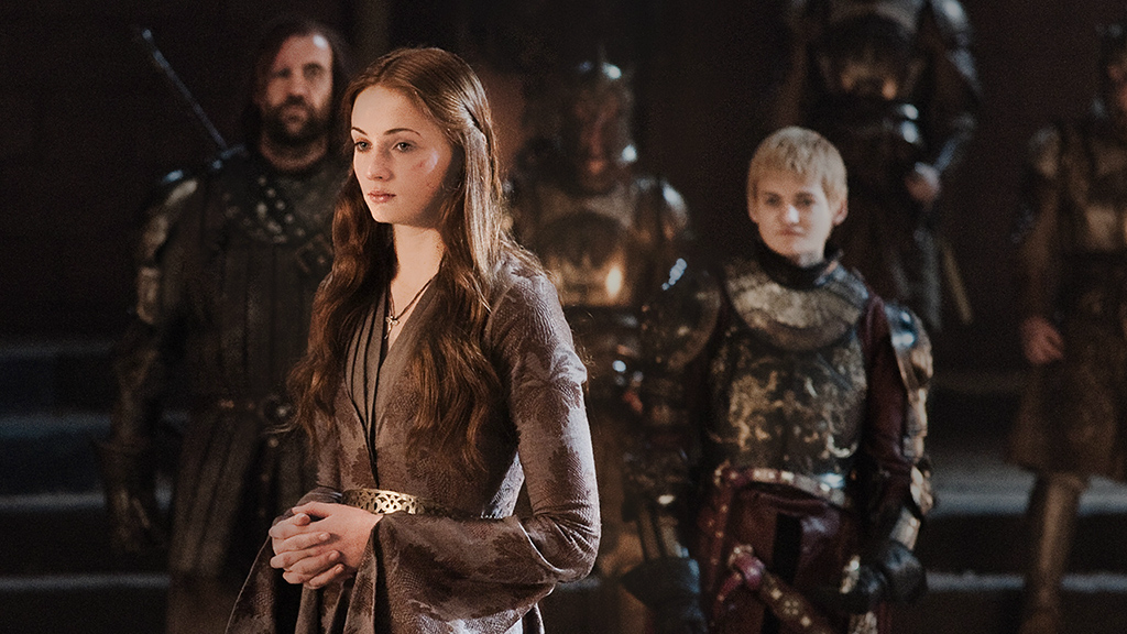 Sandor Clegane, Sansa Stark & Joffrey Baratheon - Sandor ...