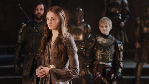 Sandor Clegane, Sansa Stark & Joffrey Baratheon