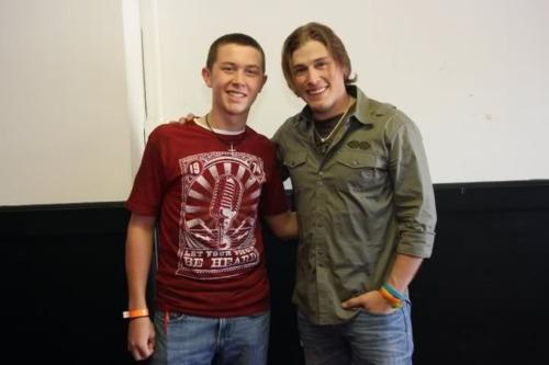 Scotty McCreery and Jason Michael Carroll! :)