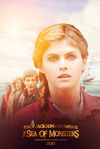 Sea of Monsters movie poster - percy-jackson-and-the-olympians Photo