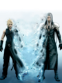 Sephiroth and Cloud - shi-no-kioku photo