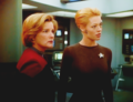 Seven and Janeway