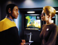 Seven and Tuvok