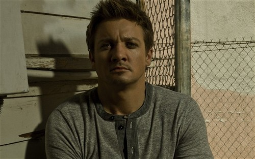 Jeremy Renner wallpaper containing a chainlink fence entitled Seven magazine(2011)
