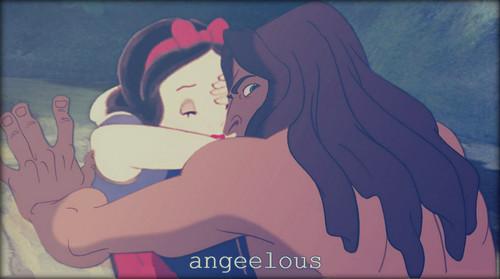 Snow White&Tarzan.