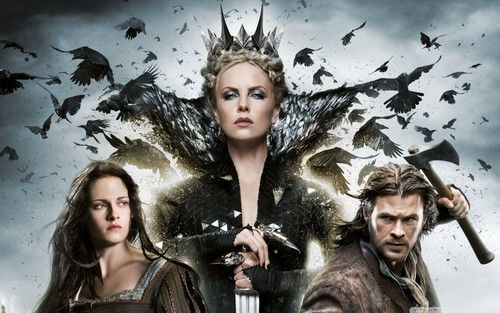 Snow White and The Huntsman wallpaper entitled Snow White & The Huntsman