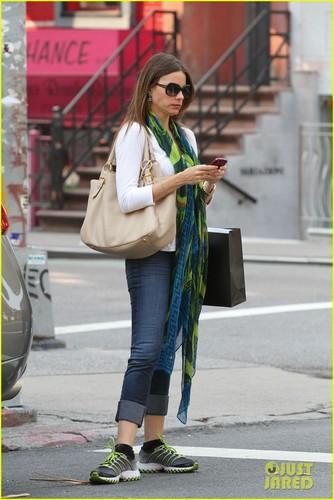Sofia Vergara: New York Shopper