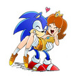 SonicxDaisy - princess-daisy fan art