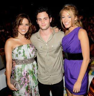 Sophia Bush, Blake Lively and Penn Badgley