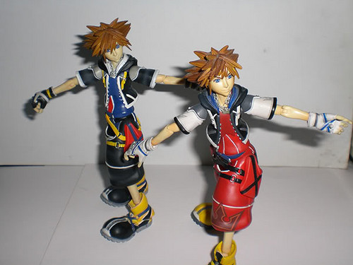 Sora Figures: KH2 And Limit Form