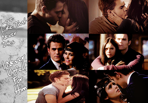 Stelena- OTP For Life  - stefan-and-elena Fan Art
