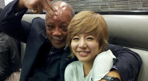 Sunny and Quincy Jones