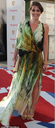 Suranne Jones at the 2012 Arqiva British Academy Телевидение Awards
