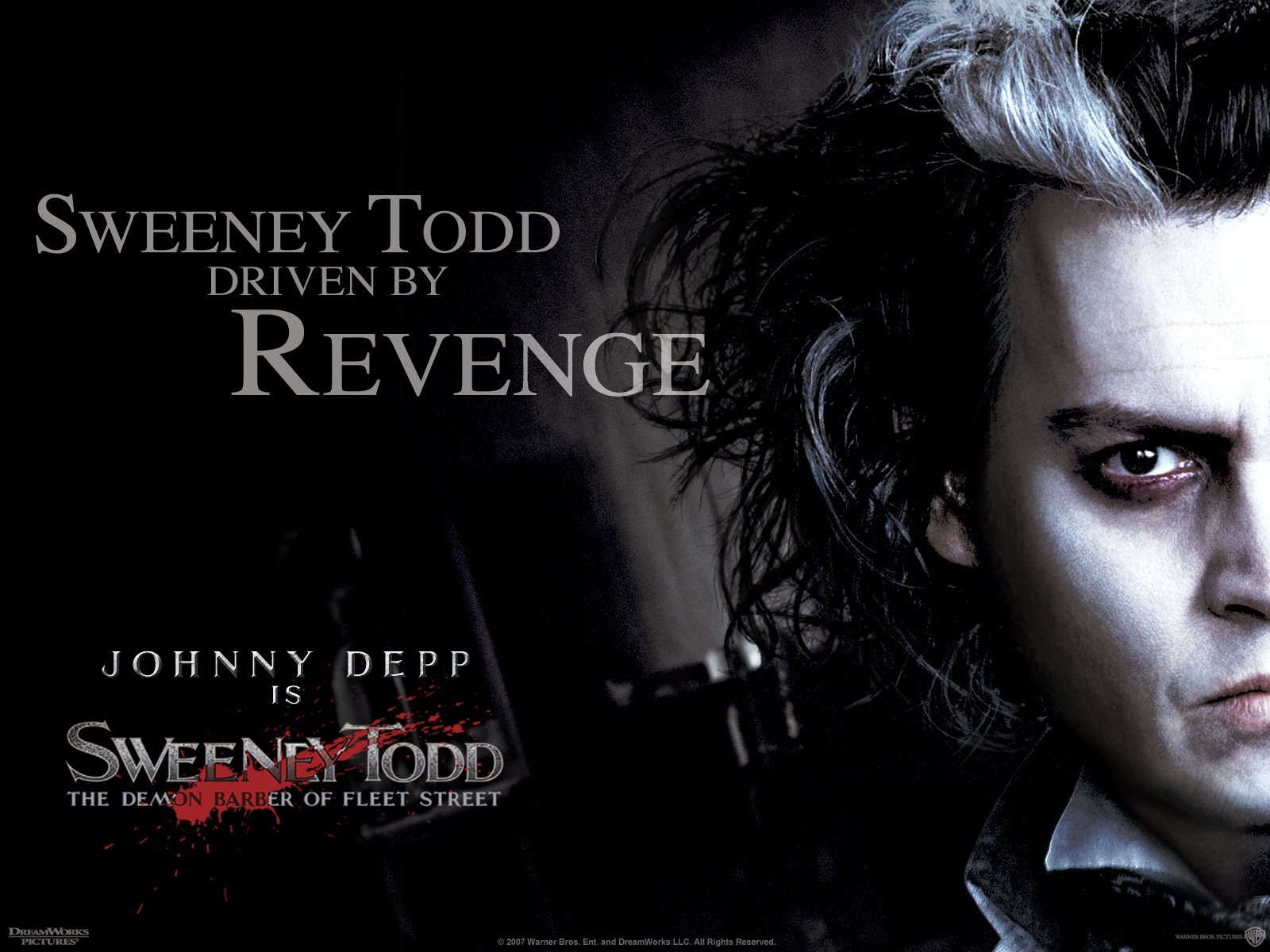 Sweeney Todd Wallpapers Sweeney Todd Wallpaper 30994123