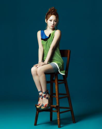 Taeyeon @ High Cut