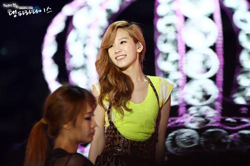 Taeyeon @ KBS Open concierto