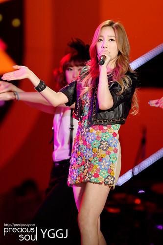 Taeyeon @ KBS Open 음악회, 콘서트