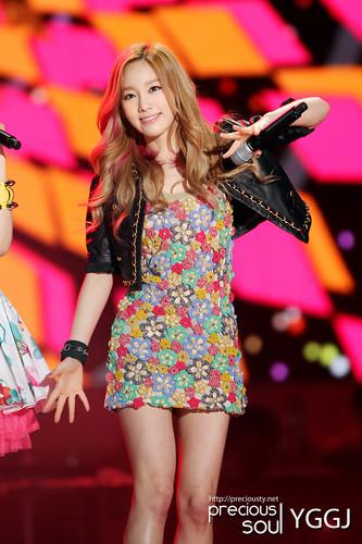 Taeyeon @ KBS Open konsiyerto