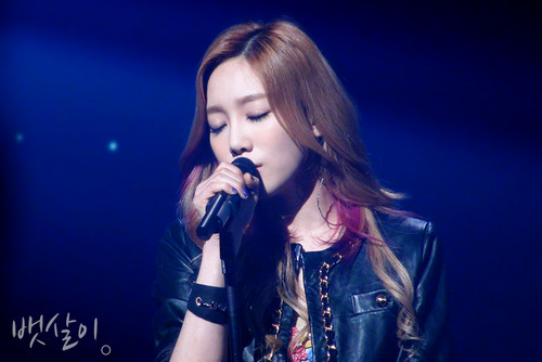 Taeyeon @ KBS Open کنسرٹ
