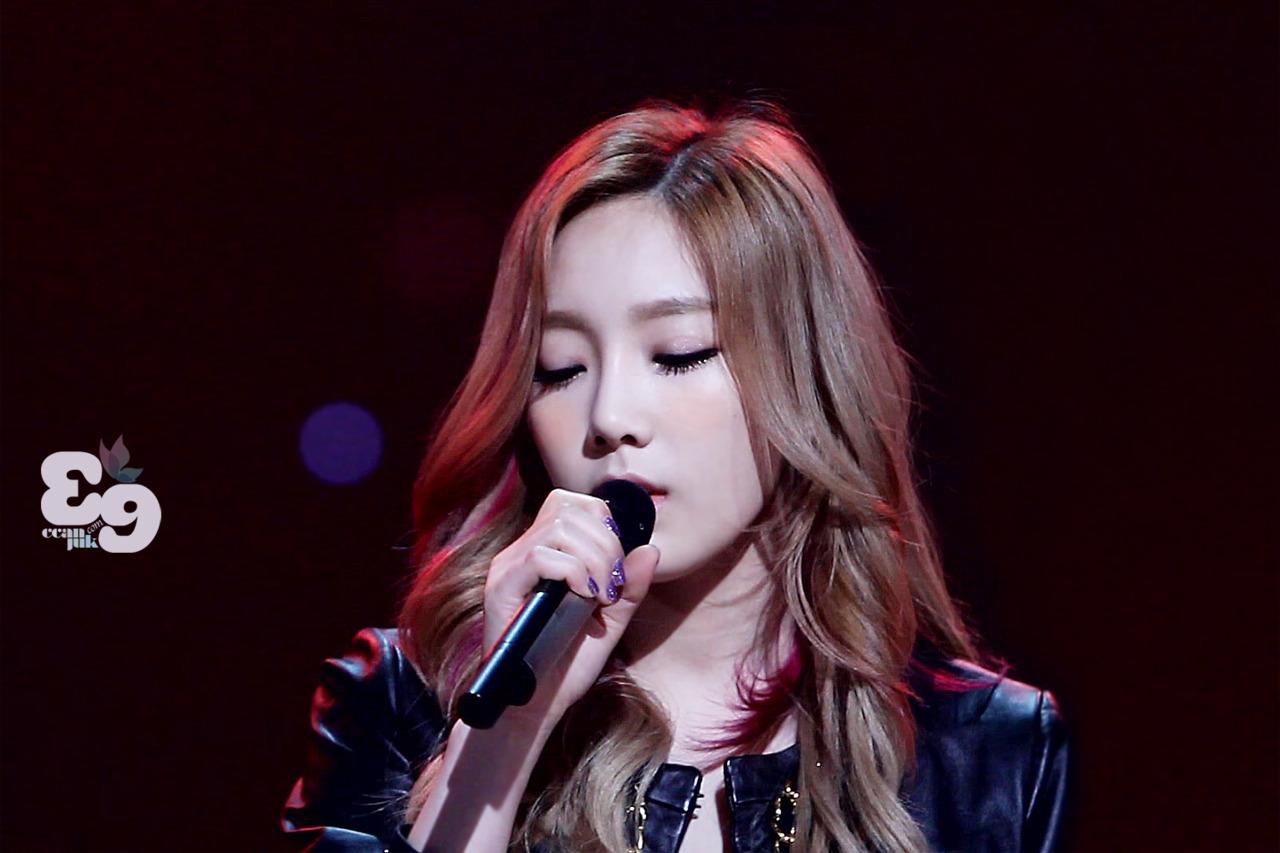 Taeyeon @ KBS Open tamasha