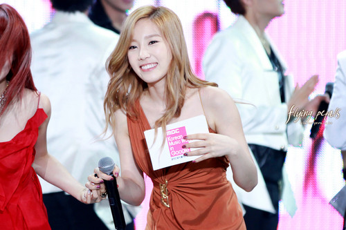 Taeyeon @ MBC Korean muziki Wave In Google