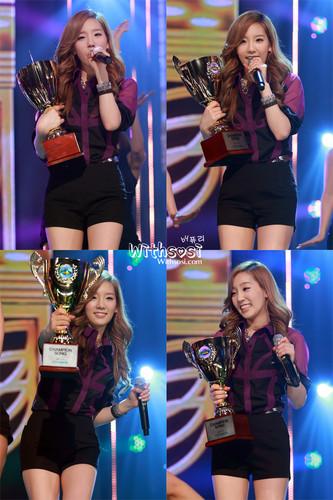 Taeyeon @ mostrar champion