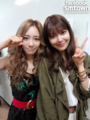 Taeyeon with sooyoung