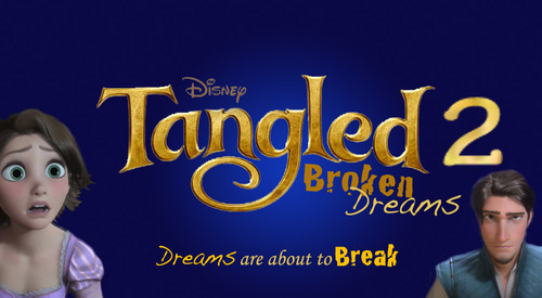 Tangled wallpaper with a portrait entitled Tangled 2 Broken Dreams