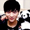 Tao 写真 with a bearskin titled Tao and Panda ^^
