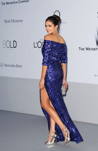 The 2012 amfAR Gala - nina-dobrev Photo