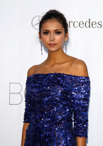 Nina Dobrev wallpaper titled The 2012 amfAR Gala
