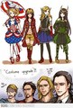 The Avengers in Anime