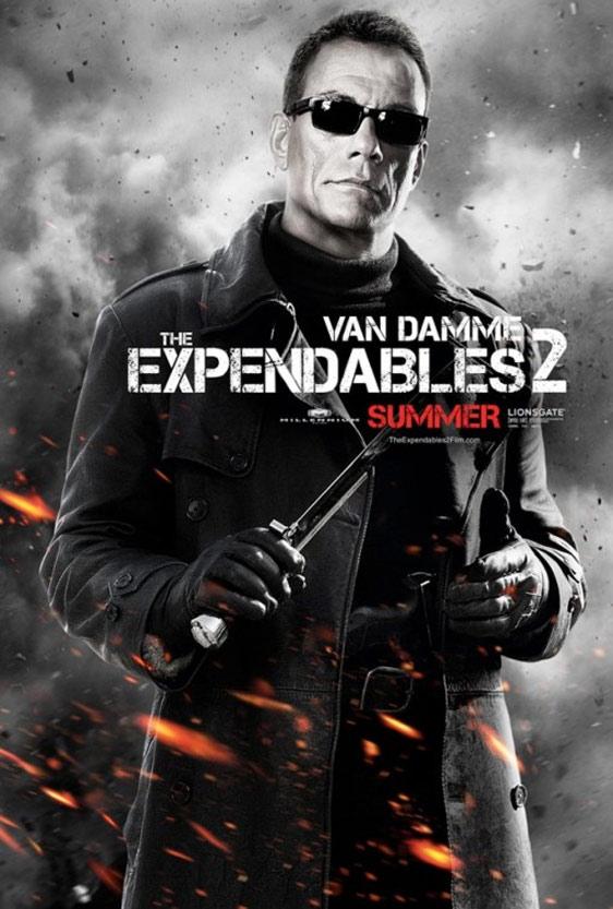 Jean-Claude Van Damme Expendables 2