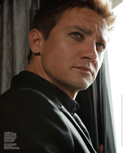 Jeremy Renner wallpaper possibly with a portrait titled The Hollywood Reporter(2012)