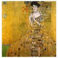 The Kiss Oil Painting by Gustav Klimt  - fine-art fan art