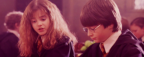 The Philosopher's Stone Harry and Hermione ScreenCaps