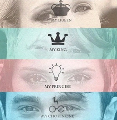 The Queen, the King, the Princess, and the Chosen One